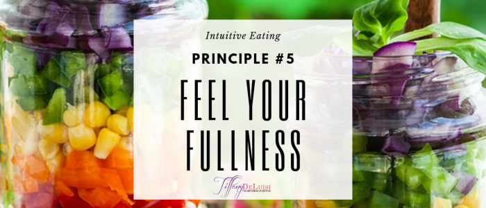 Feel Your Fullness
