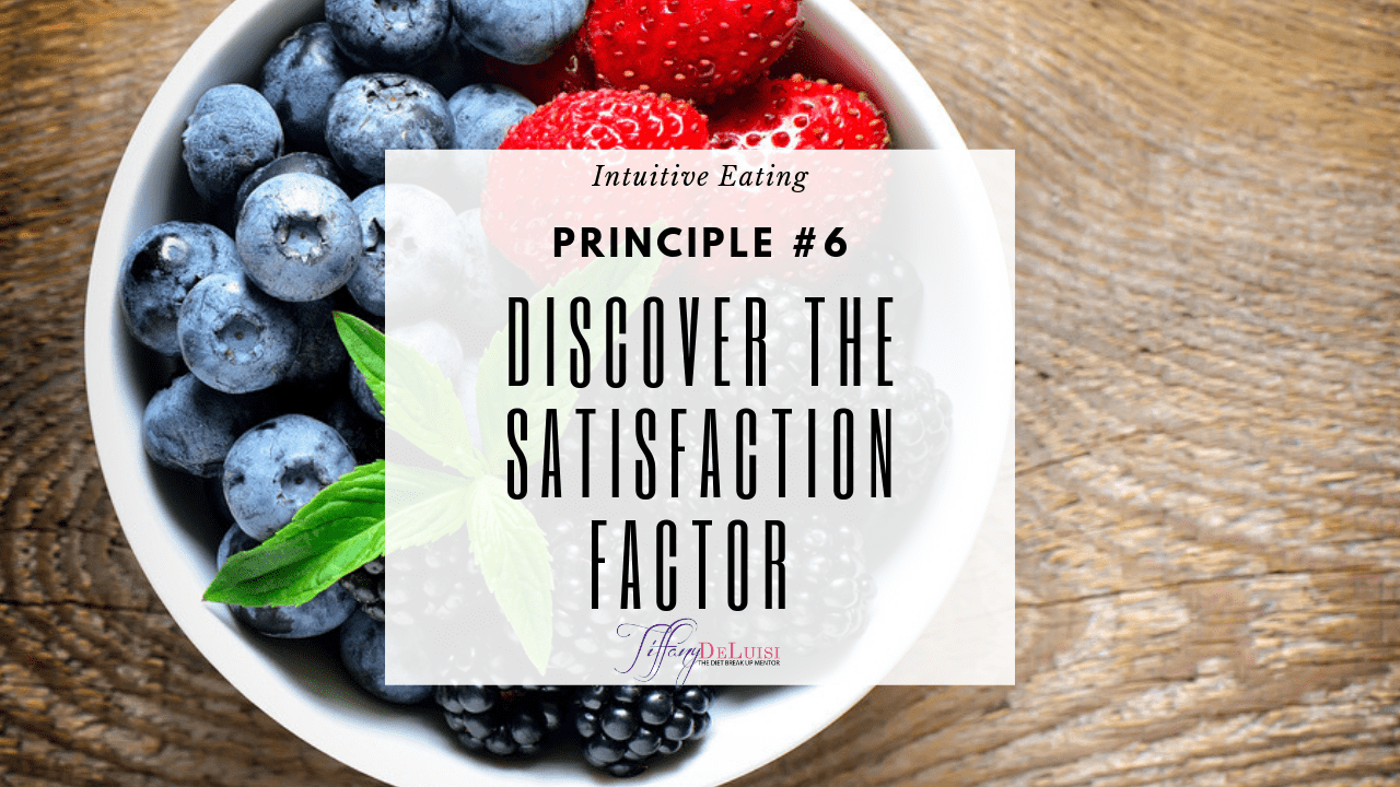 Discover the Satisfaction Factor